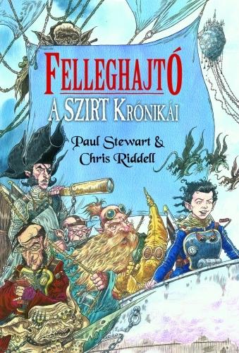 Paul Stewart, Chris Riddell: A Szirt krónikái 2. – Felleghajtó