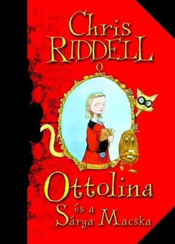 Chris Riddell: Ottolina és a sárga macska