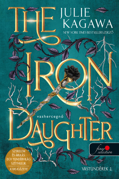 Julie Kagawa: The Iron Daughter – Vashercegnő (Vastündérek 2.) (új borítóval)