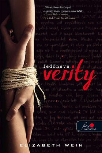 Elizabeth Wein: Fedőneve Verity
