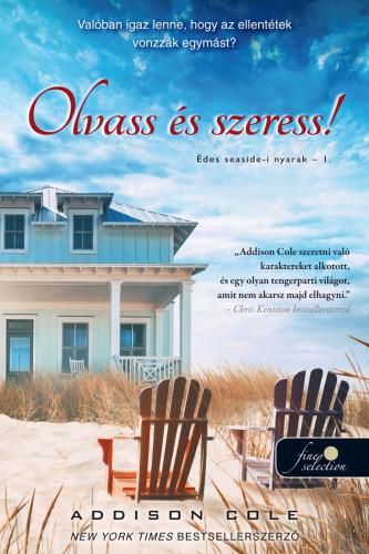 Addison Cole: Olvass, írj és szeress a Seaside-on (Édes forróság – Nyári vízparti sorozat 1.)