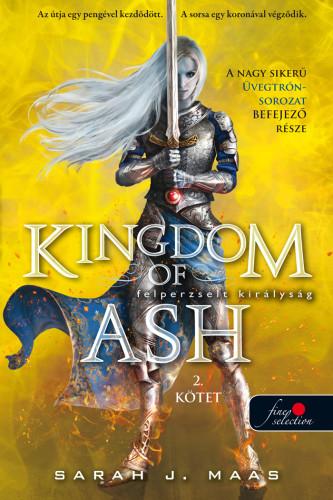 Sarah J. Maas: Hamvadó királyság második kötet (Üvegtrón 7.)