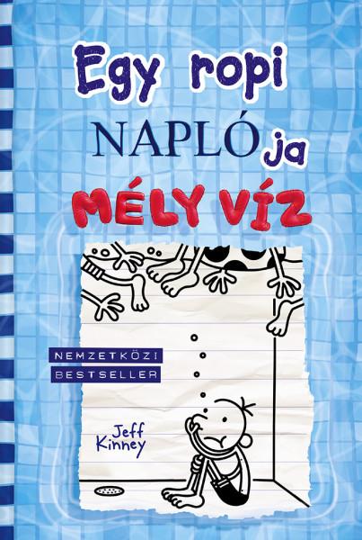 Jeff Kinney: Egy ropi naplója 15. Mély víz