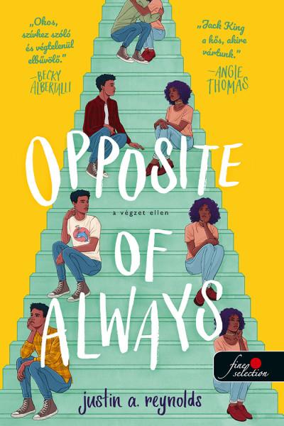 Justin A. Reynolds: Opposite of always – A végzet ellen